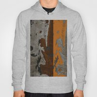 Abstract textured art work Hoody