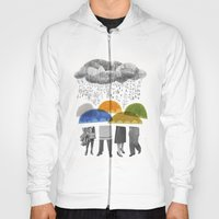 Cloudy Days For Uppercas… Hoody