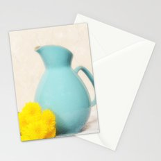 The Yellow Mums Stationery Cards