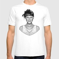 Emma's Charm Mens Fitted Tee White SMALL