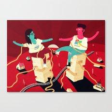 Wintel Canvas Print