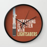 Everything Is Better Wit… Wall Clock