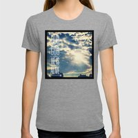 728b Womens Fitted Tee Tri-Grey SMALL