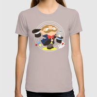 Magician Womens Fitted Tee Cinder SMALL