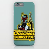 iPhone & iPod Case featuring O.G. Boba Fett by Ant Atomic