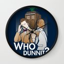 Who Dunnit? Wall Clock