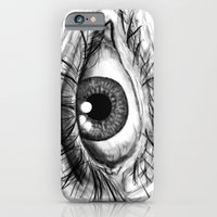 iPhone & iPod Case featuring Eye by VerticalSynapse