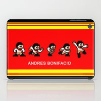8-bit Andres 5 pose v2 iPad Case