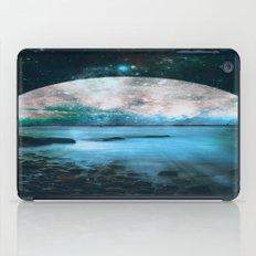 Mystic Lake Blue Green iPad Case