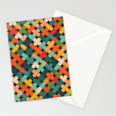 Lucky Clover Stationery Cards