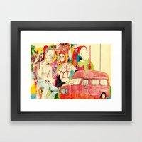 Sketchbookpage(1) Framed Art Print
