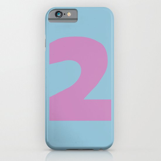 Number 2 iPhone & iPod Case
