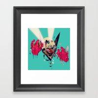 Hero Eater Framed Art Print
