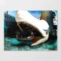 Whale Of A Ride Canvas Print