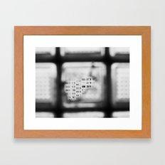 BLOCK Framed Art Print