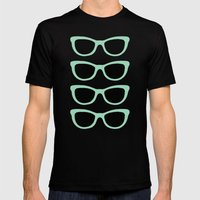 Sunglasses #5 Mens Fitted Tee Black SMALL
