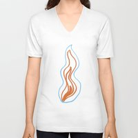 Fire Walk With Me  Unisex V-Neck