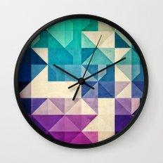 Pyrply Wall Clock