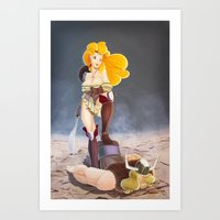 Say Kitchen Again, I Dar… Art Print