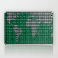 Green Map Laptop & iPad Skin