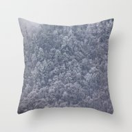 Winter's Chill Throw Pillow