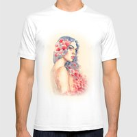 Demeter Mens Fitted Tee White SMALL