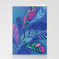 Feather Doodle Stationery Cards