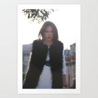 Fashion 3 Art Print