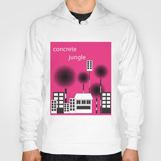 concrete jungle Hoody