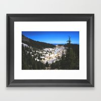 Bumpass Hell Pass Lassen… Framed Art Print