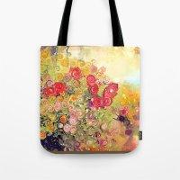 Colorful Flower Basket P… Tote Bag