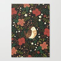 Christmas Robin Canvas Print