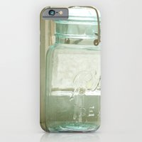 iPhone & iPod Case featuring Jars of the Past by angela haugland