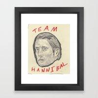 Team Hannibal Framed Art Print