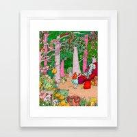 Alice In Wonderland - Ad… Framed Art Print