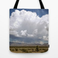 desert drive by Tote Bag