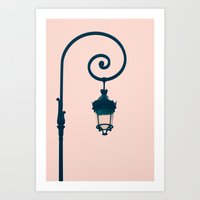 Paris Geometries  Art Print