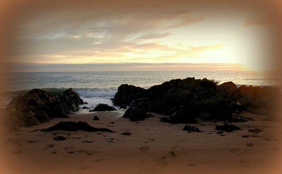 Sunrise in Tasmania  Canvas Print