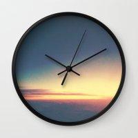 Dusk. Wall Clock