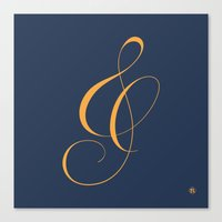 Nautica's Ampersand Canvas Print