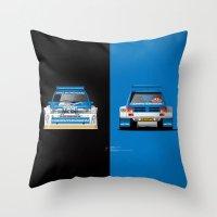 Group B Edition, N.º5, MG Metro 6R4 Throw Pillow