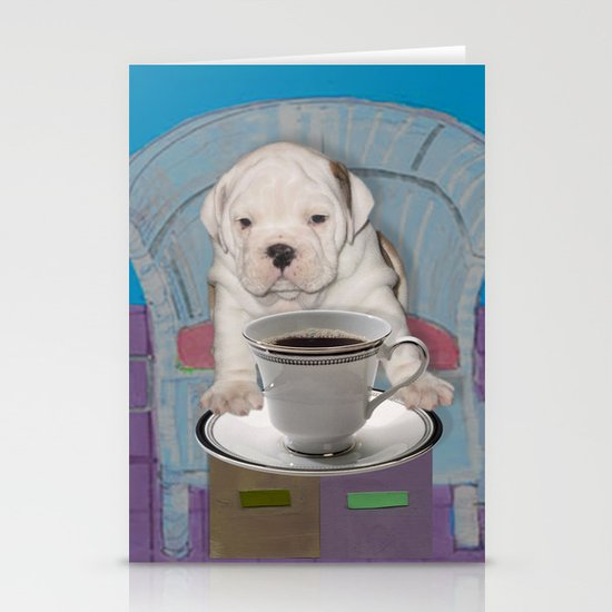 can't this wait until after my first cup Stationery Card