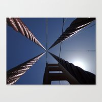 Cables Canvas Print