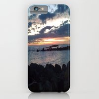 iPhone & iPod Case featuring jetty nights by Jaclyn B Photography