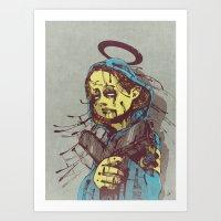Shepherd II. Art Print