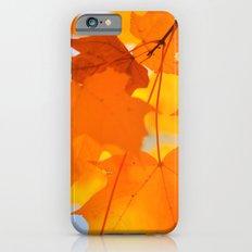 Yellow-orange Autumn Slim Case iPhone 6s