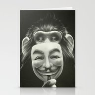 Stationery Cards featuring Anonymous by Dr. Lukas Brezak