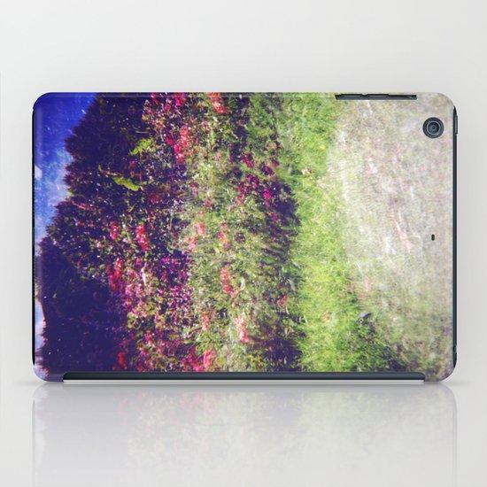 Flowers Plastic Camera Double Exposure iPad Case