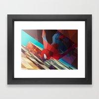 Hang Man Framed Art Print