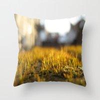 Brooklyn Moss Throw Pillow